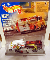 Fire 'N Rescue Action Pack | Model Vehicle Sets