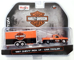 1987 chevy pick up and car trailer model vehicle sets 14f3a6a0 7557 43cd 930c 8d1843b0daec medium