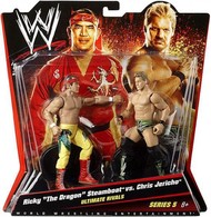Chris Jericho VS Ricky 'The Dragon' Steamboat | Action Figure Sets