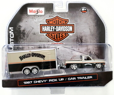 1987 chevy pick up and car trailer model vehicle sets f6e341c3 11ba 42c8 8d04 287f14870a44 medium