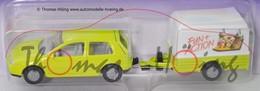 Volkswagen Golf IV With Trailer | Model Vehicle Sets