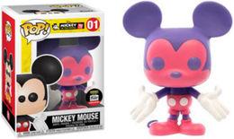 Mickey Mouse (Pink & Purple) [Funko-Shop] | Vinyl Art Toys