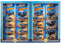 HW 50th Race Team Mini Collection | Model Vehicle Sets | 2018 Hot Wheels 50th Race Team Mini Collection
