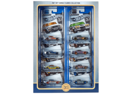 HW 50th Zamac Flames Collection | Model Vehicle Sets | 2018 Hot Wheels 50th Zamac Flames Collection