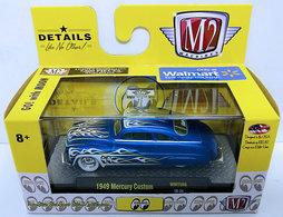 1949 Mercury Custom | Model Cars | M2 Machines 2018 - Mooneyes 18-34 - 1949 Mercury Custom - Blue - Walmart Exclusive - 7,800 pieces Worldwide.