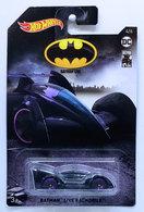 Batman Live Batmobile  | Model Cars | HW 2019 - Batman 80 Years 4/6 - Batman Live Batmobile - Black - Walmart Exclusive