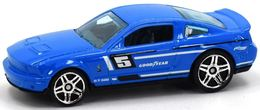 '07 Shelby GT-500 | Model Cars | Hot Wheels Mustang Shelby GT500 Blue
