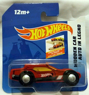 Hot Wheels Wooden Car Auto in Legno | Model Cars