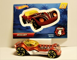 Dieselboy | Model Cars | 2018 Hot Wheels Mystery Models / Series 4 / Deiselboy