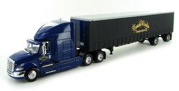 Tradewinds Transportation - International ProStar With 48' Curtainside Spread-Axle Trailer   Model Vehicle Sets