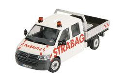 Strabag - Volkswagen T-5 Crew Cab Flatbed Pickup   Model Trucks