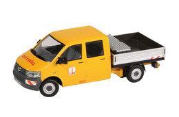 Max Bögl - Volkswagen T-5 Crew Cab Pickup With Platform   Model Trucks