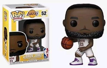 new product eb111 aab2f LeBron James (Lakers) (White Jersey) | Vinyl Art Toys | hobbyDB