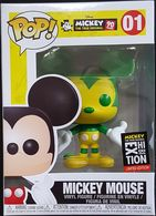 Mickey Mouse (Green & Yellow) [NYC Exhibition] | Vinyl Art Toys