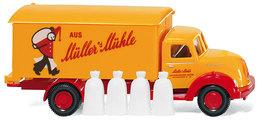 Müller's Mühle - Magirus Sirius Box Truck | Model Trucks