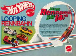 Hot Wheels Looping Rennbahn | Print Ads