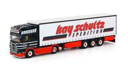 Kay Schultz - Scania R Topline Tractor With Curtainside Trailer | Model Vehicle Sets