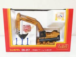 Komatsu Hydraulic Excavator 20-HT | Model Construction Equipment