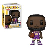 LeBron James (Lakers) (Purple Jersey) | Vinyl Art Toys | Fanatics Exclusive
