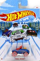 Pedal Driver | Model Cars | Error - 2018 Hot Wheels Xmas Pedal Driver Has a Second Steering Wheel Assembly in the Driving Compartment