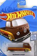 Volkswagen T2 Pickup   Model Trucks   2019 Hot Wheels Volkswagen T2 Pickup Metal Flake Brown