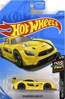2016 Mercedes Benz AMG GT3 | Model Racing Cars | 2019 Hot Wheels HW Race Day '16 Mercedes-AMG GT3 Yellow