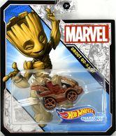 Groot Go-Kart | Model Cars | Hot Wheels Marvel Comics Character Cars Groot Go-Kart