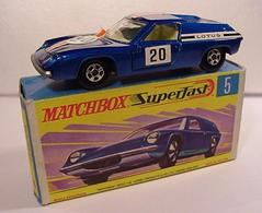 Lotus Europa | Model Cars | 03 dk. blue wo/ ridges