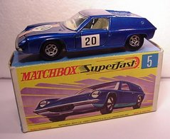 Lotus Europa | Model Cars | 03 dk. blue w/ ridges