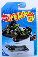 Moto Wing | Model Motorcycles | HW 2019 - Collector # 088/250 - HW Moto 1/5 - New Models - Moto Wing - Olive Drab - USA Card