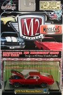 1970 Ford Mustang Mach 1   Model Cars