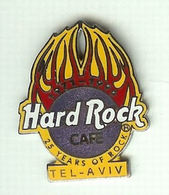 25 years of rock   yellow flames %2528hrc america c..   pins and badges a34744d1 5857 4b39 99d6 437a166fa565 medium
