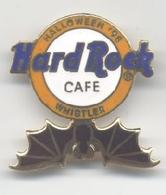 Halloween 98   hrc logo with black bat pins and badges 76daf0bb bffe 4eb4 98c4 d816e812de67 medium