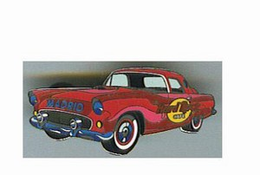 Car Series - Mid-50's Red Ford Thunderbird | Pins & Badges