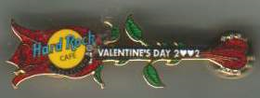 Valentines day open rose guitar | Pins & Badges