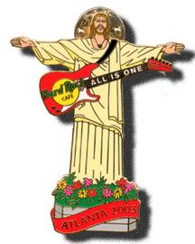 Church Youth - Jesus holding guitar | Pins and Badges | hobbyDB