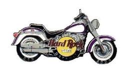 Harley Davidson Motorcycle w/spinning wheels | Pins & Badges