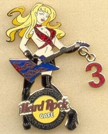 3rd Anniversary Girl w/ Guitar | Pins & Badges