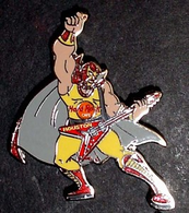 Masked wrestler with grey cape pins and badges 5d3a162a 29a2 46e1 8714 8a8c40ddf1c1 medium