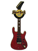 Memorabilia guitar   red stratocaster with stars pins and badges 082ad125 6567 4185 b0a1 1a82682f2e19 medium