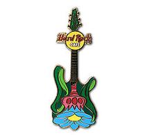 Retro flower guitar series %252312 pins and badges db0f52fc b9e4 46fe af07 9e04d966bb93 medium