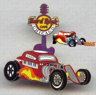 World of Wheels - Guitar with Hot Rod | Pins & Badges