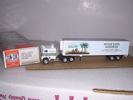 Tractor/Trailer - Dulin Date Gardens   Model Vehicle Sets