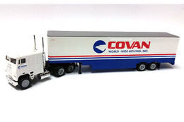 Freightliner Tractor W/48' Trailer - Covan Moving   Model Vehicle Sets