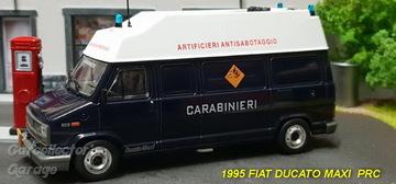 Carabinieri Fiat Ducato Maxi Artificieri Antisabotaggio 1//43 Diecast