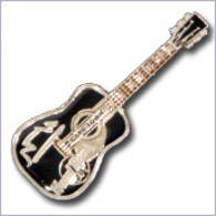 Black acoustic guitar w%252ftable mountain   silver based metal pins and badges ed63645b a189 4108 b6e8 fad834d1fefa medium
