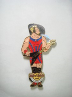 Wrestler with flying v guitar pins and badges 23d77217 5965 4123 ae21 75afdce0111f medium