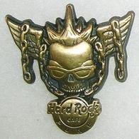 3D Winged Skull   Pins & Badges