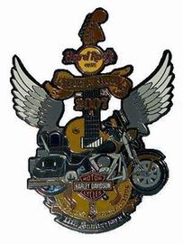 11 annual KL to Singapore Harley Davidson Ride | Pins & Badges