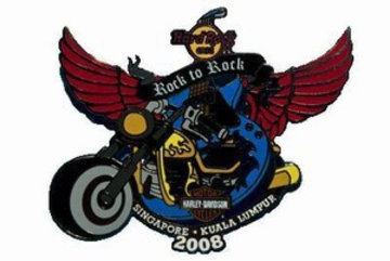 12 annual KL to Singapore Harley Davidson Ride | Pins & Badges